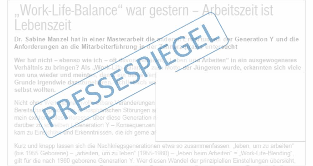 Zahnarzt Berlin Presse